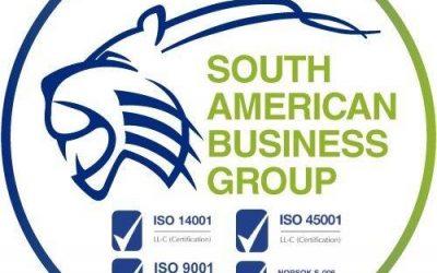 Reconocimiento a nuestra compañía SABG S.A.S por parte de la cámara de comercio de Bogotá.
